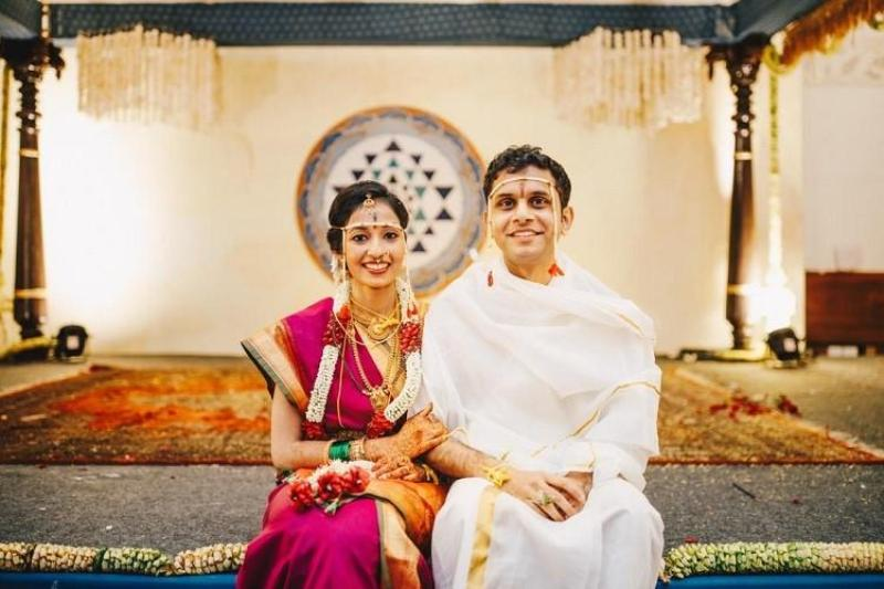 Aparna Krishnan with Rohan Murty