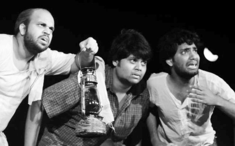 Badri Chavan in a Theatre Play