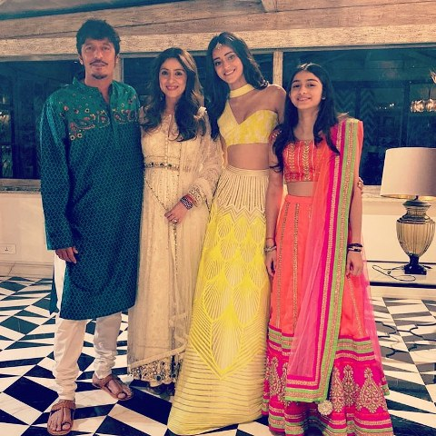 Bhavana Pandey with her family