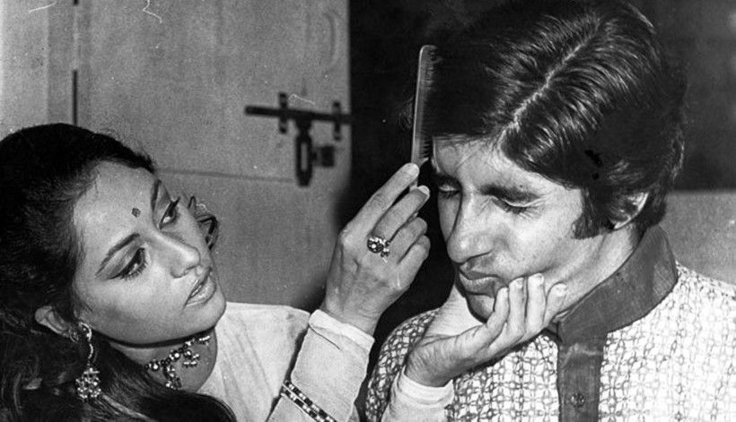 Candid Moment of Jaya Bachchan and Amitabh Bachchan