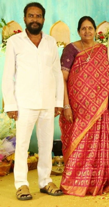 Director Krish's Parents