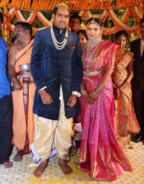 Director Krish with his wife
