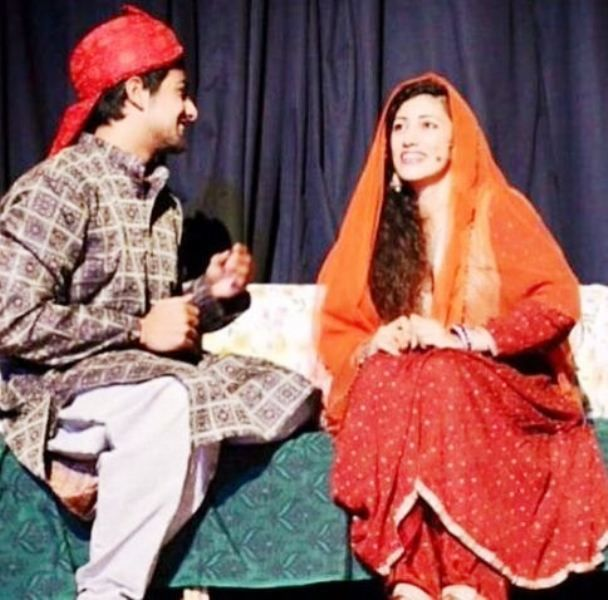 Fahmaan Khan Performing in a Theatre Play