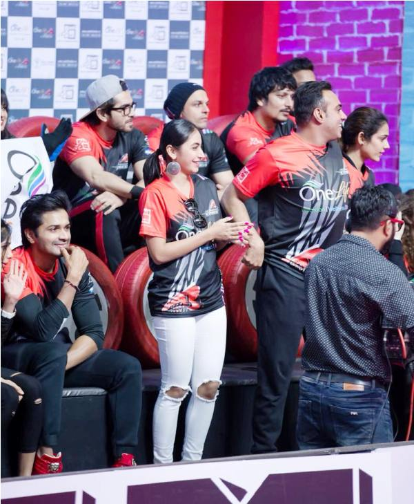 Katie Iqbal in Box Cricket League
