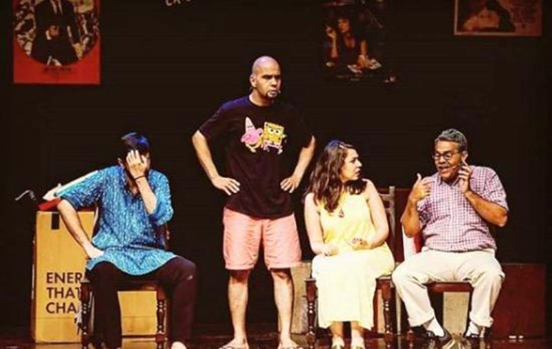 Maanvi Gagroo Acting in a Theatre Play