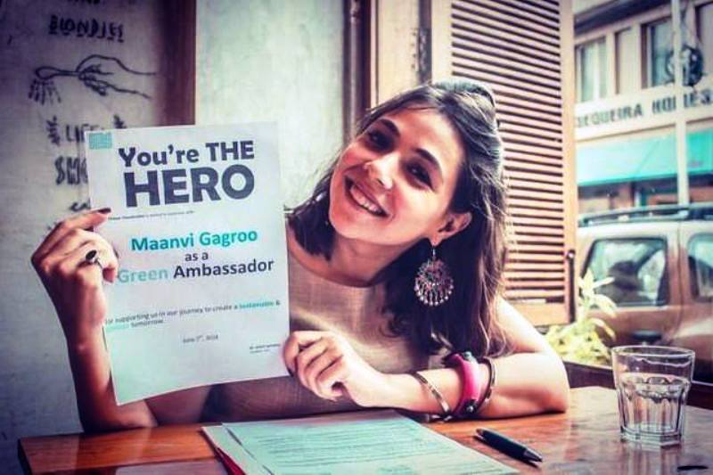 Maanvi Gagroo on Becoming Green Ambassador