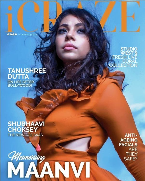 Maanvi Gagroo on the Cover of a Magazine