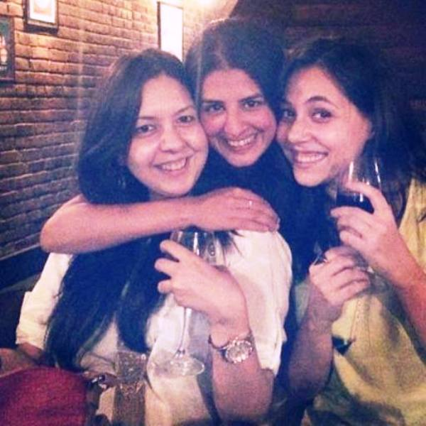 Maanvi Gagroo with Her Friends