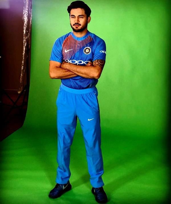 Manish Pandey during a photoshoot