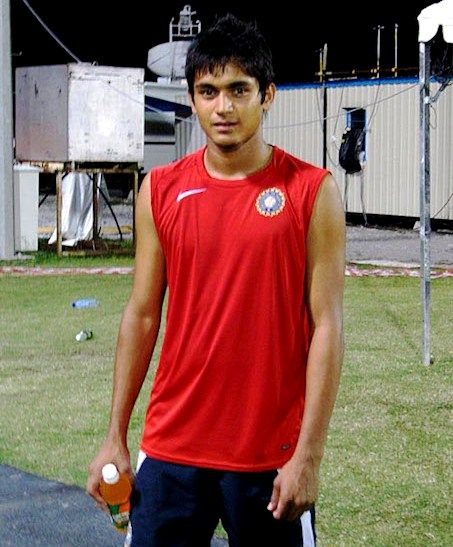 Manish Pandey during his younger days