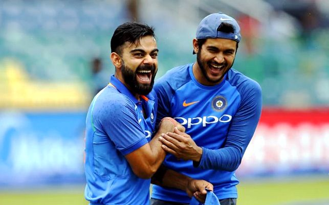 Manish Pandey with Virat Kohli