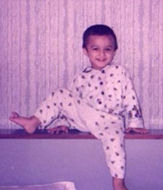 Mohsin Khan's childhood picture
