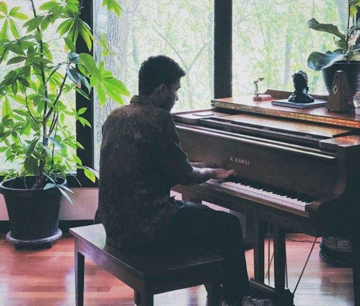 Prateek Kuhad Playing the Piano