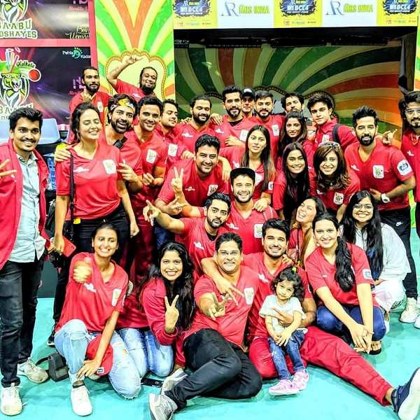 Puneett Chouksey with His BCL Team