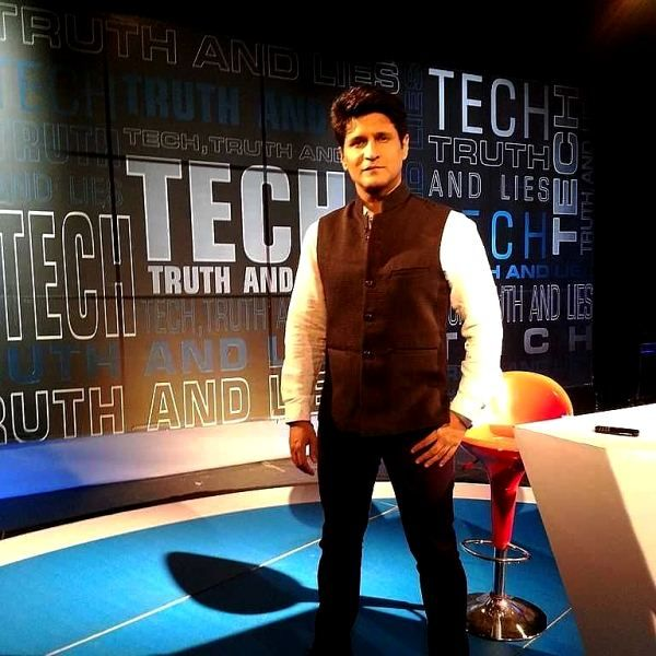 Rajiv Makhni during his show Walk the Tech Talk