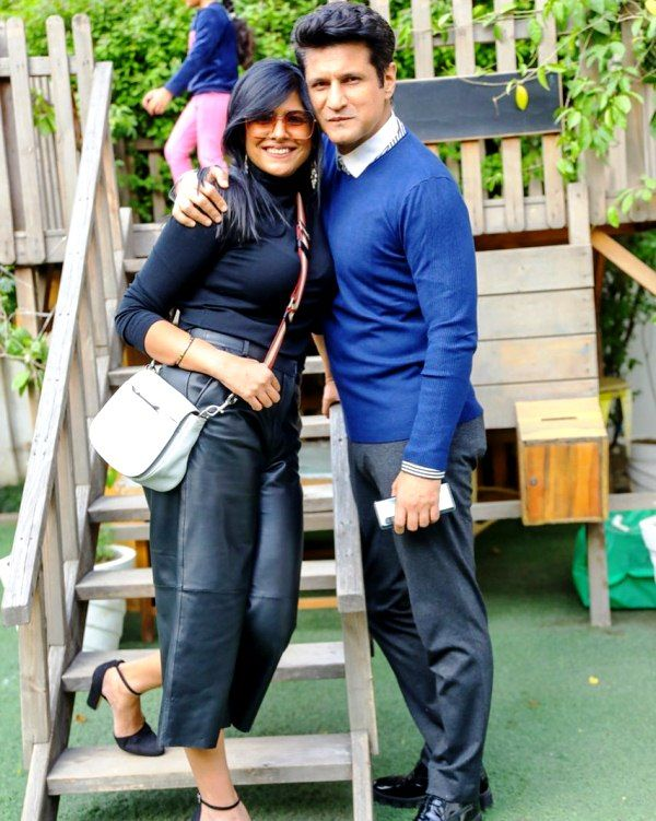 Rajiv Makhni with his wife Ruchitra Makhni
