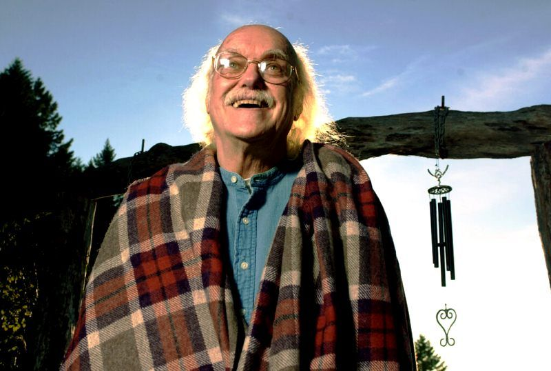 Ram Dass at the Dying Project in Santa Fe