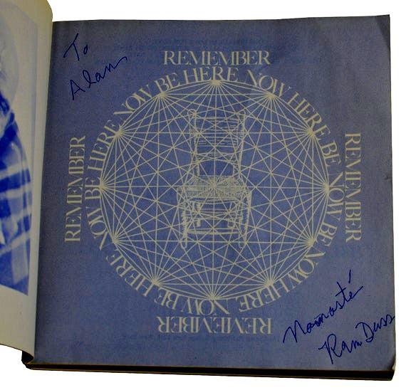 Ram Dass' book- Be Here Now