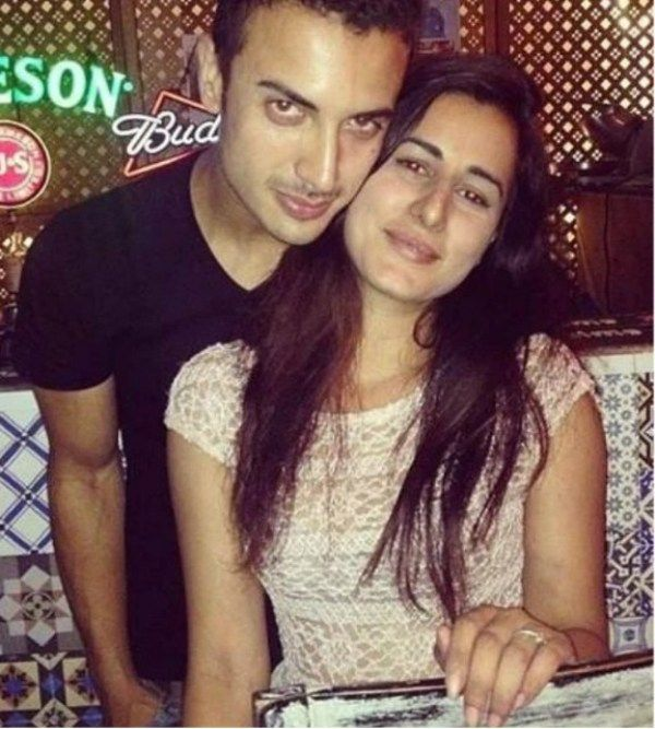 Saloni Chopra with Zain Durrani