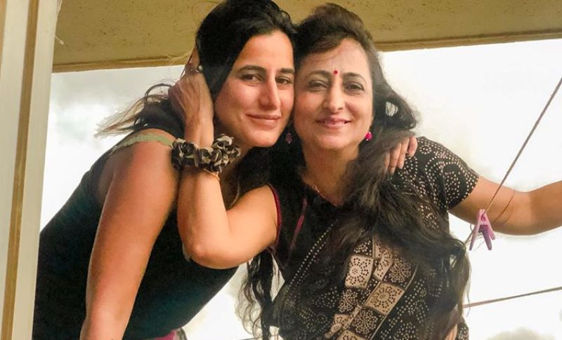 Saloni Chopra with her Mother