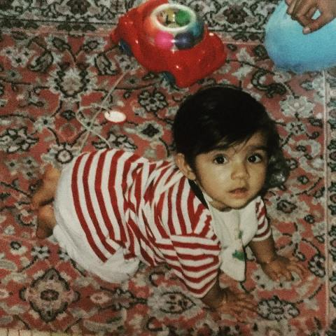 Sana Ganguly's childhood picture