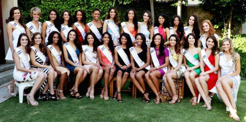 Semi-Finalists of Miss South Africa 2017 Competition