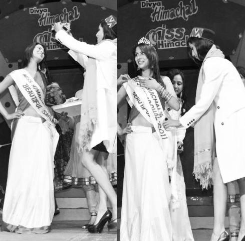 Sheetal Thakur crowned Miss Himachal Pradesh