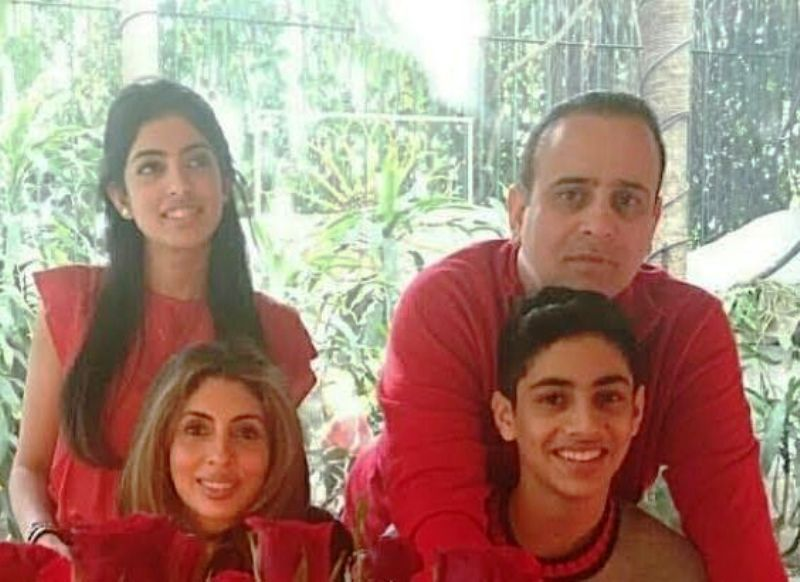 Shweta Bachchan Nanda with Her Husband and Kids