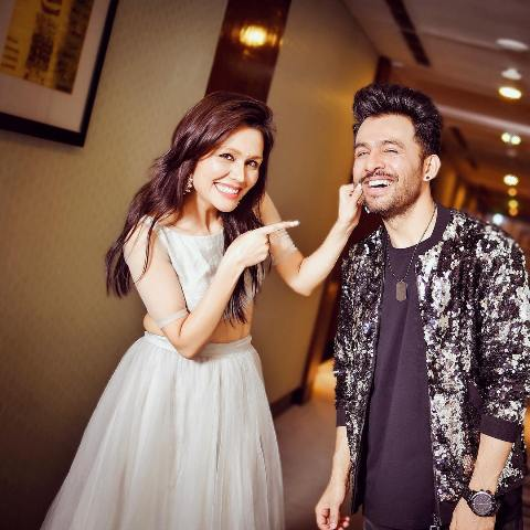 Sonu Kakkar with her brother