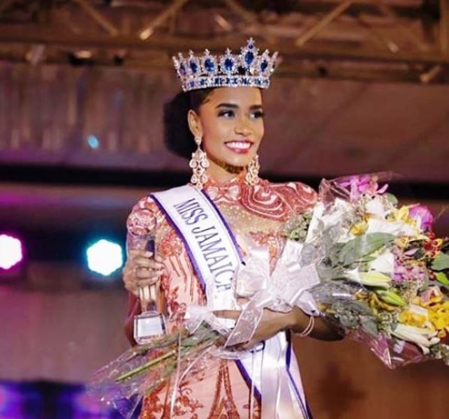 Toni-Ann Singh Crowned as Miss Jamaica 2019