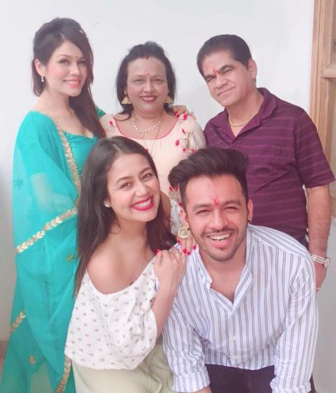 Tony Kakkar with his family