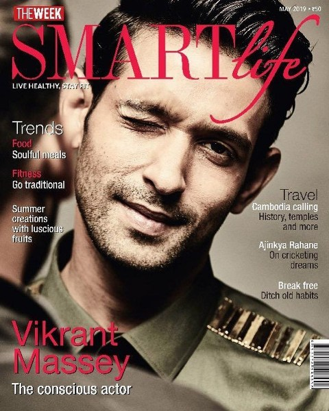 Vikrant Massey on the cover of SMARTlife Magazine