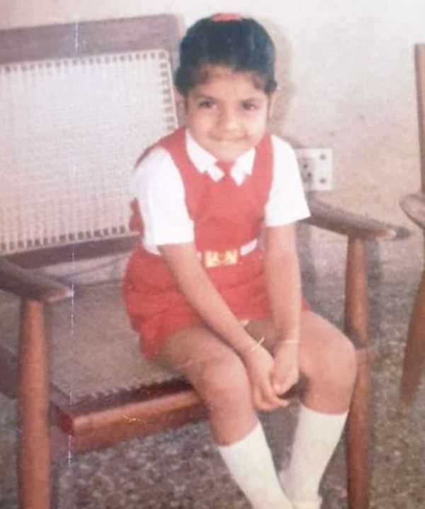 A Childhood Picture of Aishwarya Sakhuja