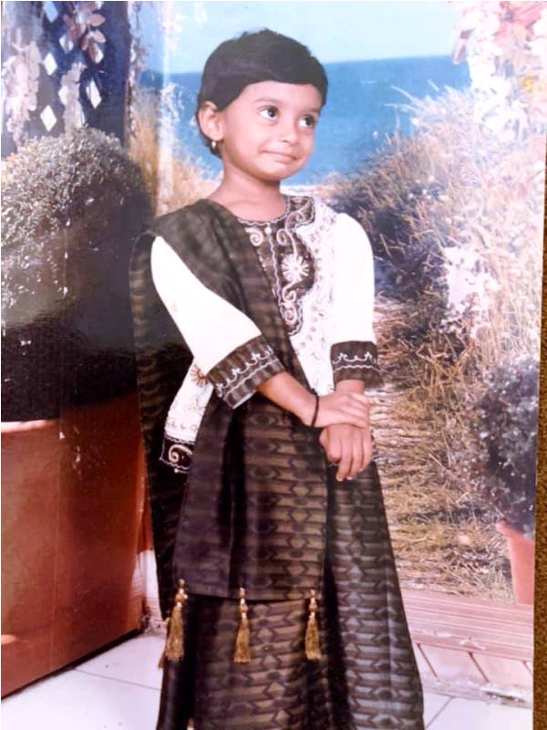A Childhood Picture of Twinkle Kapoor
