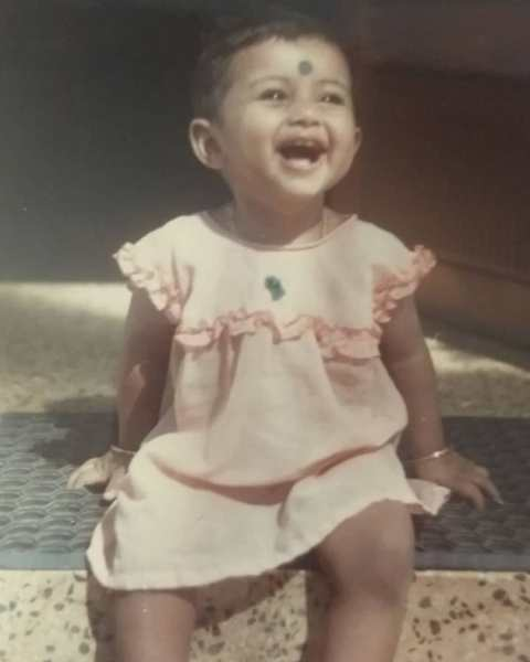 Alina Padikkal's childhood picture