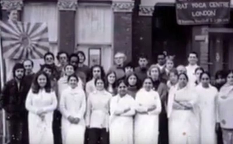 An Old Picture of Dadi Janki at Brahmakumaris Centre in London