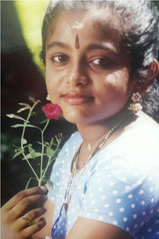An Old Picture of Veena Nair
