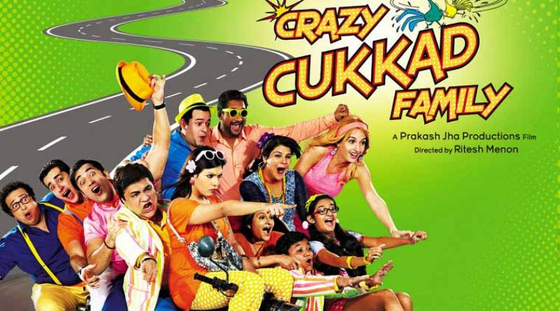 Anushka Sen in Crazy Cukkad Family