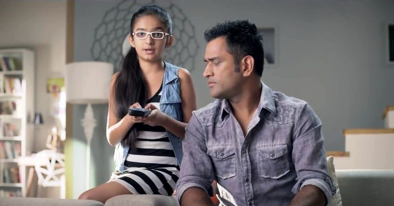 Anushka Sen in a TV Commercial