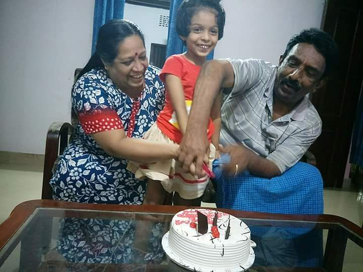 Arya Rohit's parents and her daughter