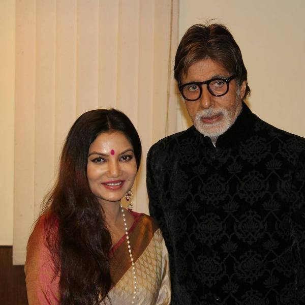 Dolon Roy with Amitabh Bachchan