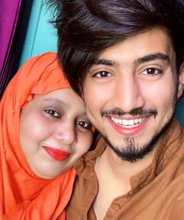 Faisal Shaikh with His Mother