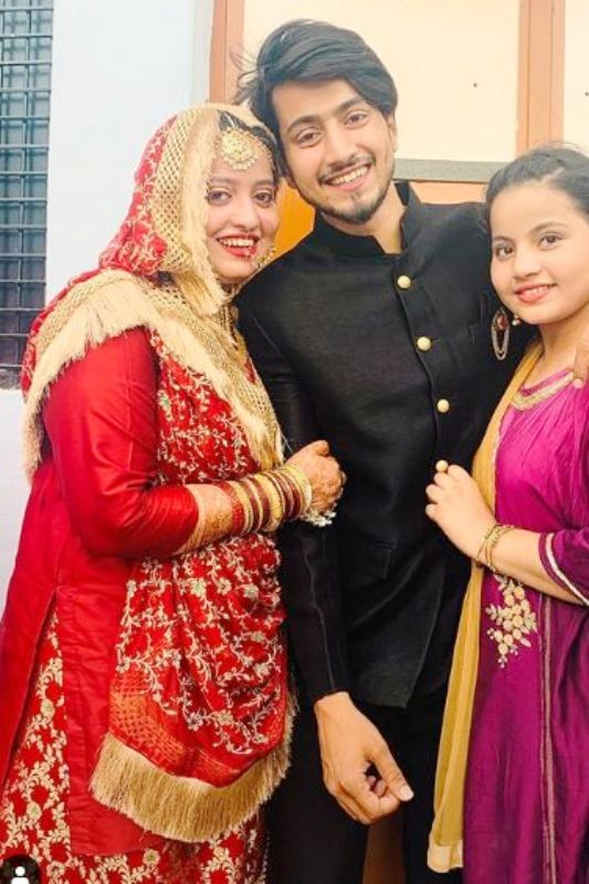 Faisal Shaikh with His Sisters
