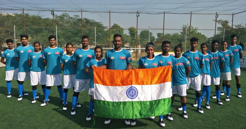 Indian Football Team at Homeless World Cup
