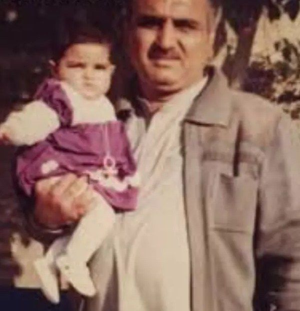 Little Maya Ali with her Father