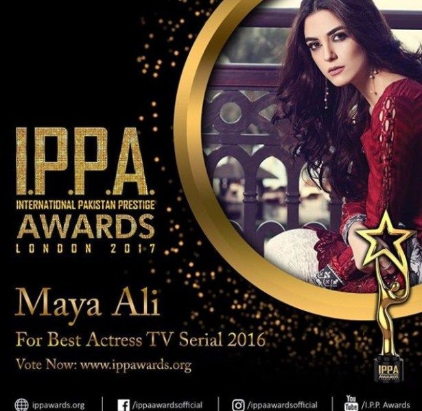 Maya Ali-IPPA Awards