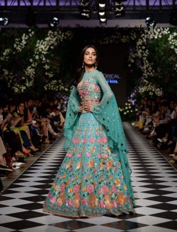Maya Ali during a Fashion Show