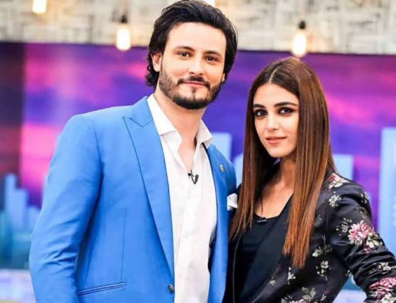 Maya Ali with Osman Khalid Butt