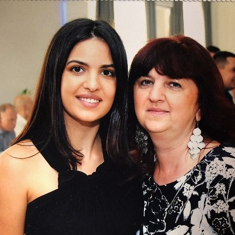 Natasa Stankovic and her mother