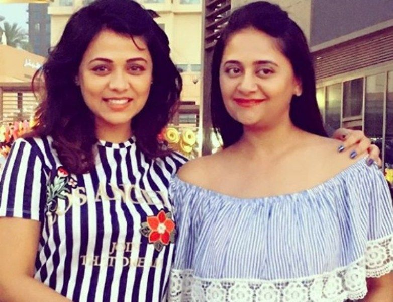 Prarthana Behere with her Sister